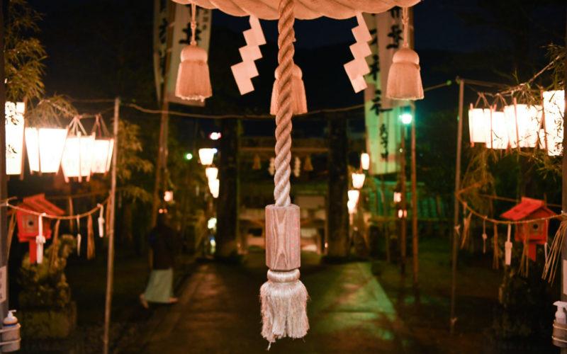 青方神社前夜祭前2